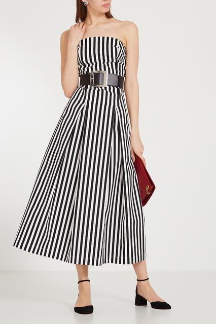 6a69b849b46 Платье-миди в полоску Ksenia Avakyan – купить в интернет-магазине в ...