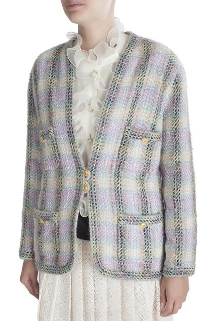 ... Твидовый жакет Chanel Vintage - Chanel Vintage, Винтаж, Винтаж Chanel  Vintage, вид 3 ... 51f04b1bf1f