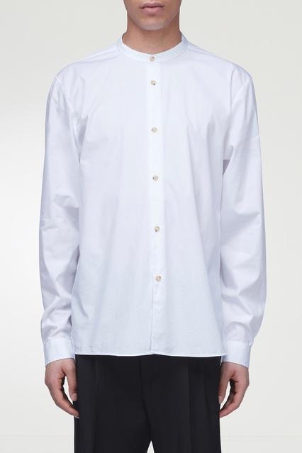 59c229a1342 Рубашка с воротником-стойкой Acne Studios – купить в интернет ...
