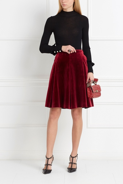 Приталенная юбка