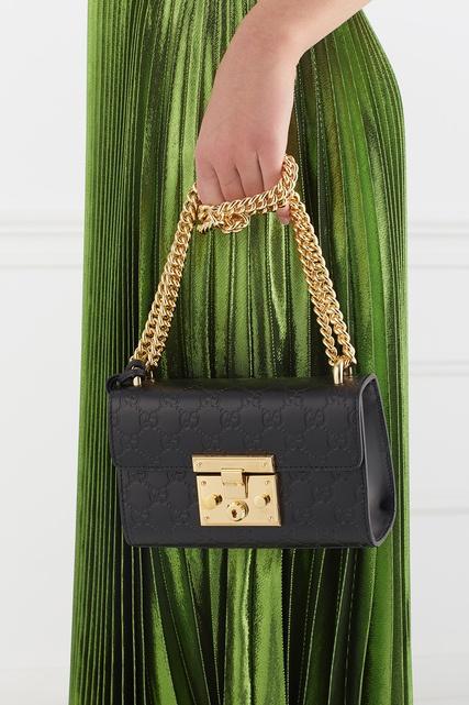 Кожаная сумка Gucci - Небольшая сумка черного цвета из новой ... eec27515974