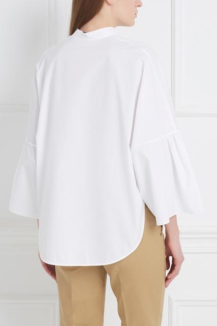 Блузки с объемными рукавами купить