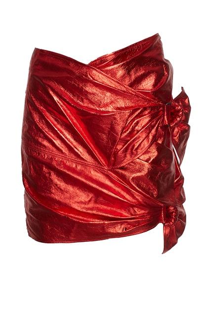 Кожаная юбка для девочки купить