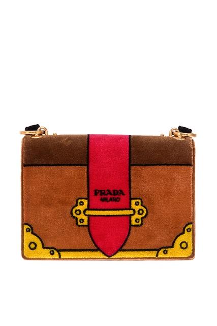 Wow! Сумка женская Prada 1313 купить недорого в интернет