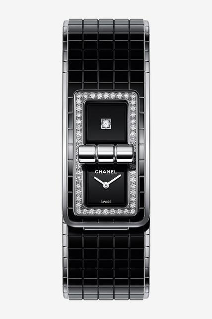 Часы Chanel Code Coco корпус из керамики стали от 758 800 руб ... d16ed3c4de9