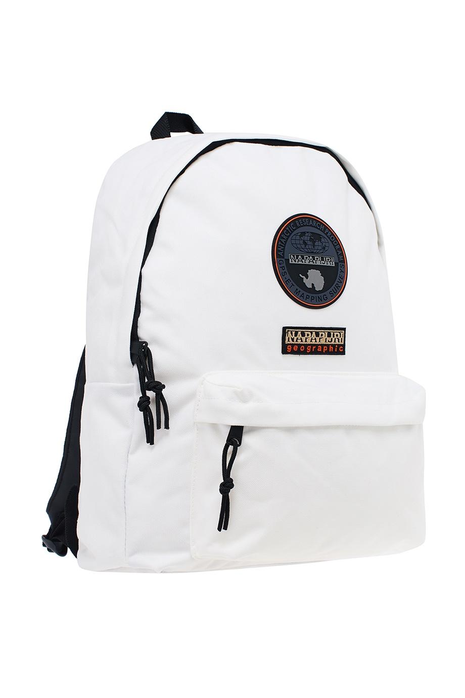 efaf535901d0 Белый текстильный рюкзак Napapijri – купить в интернет-магазине в Москве