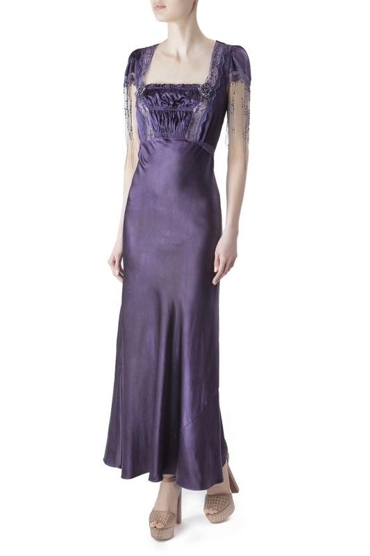 Erickson Beamon Шелковое платье erickson beamon