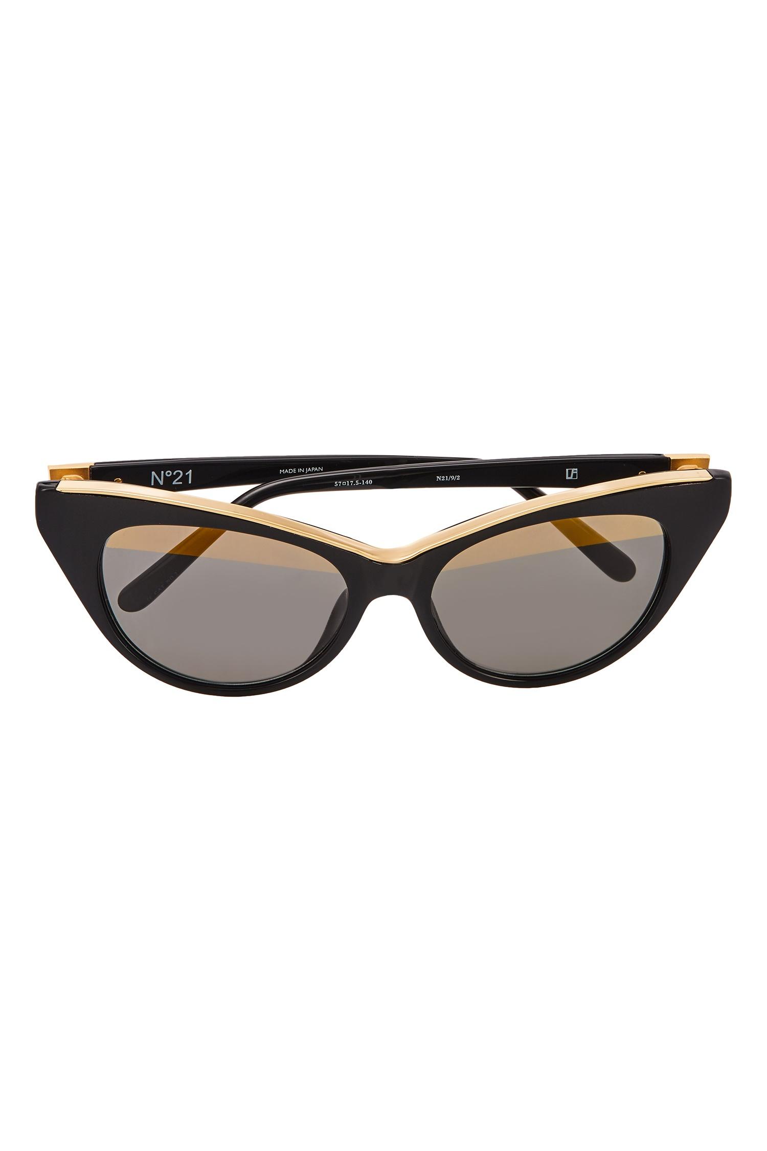 1b442fd44fa Солнцезащитные очки cat eye Linda Farrow x No.21 Linda Farrow (фото)