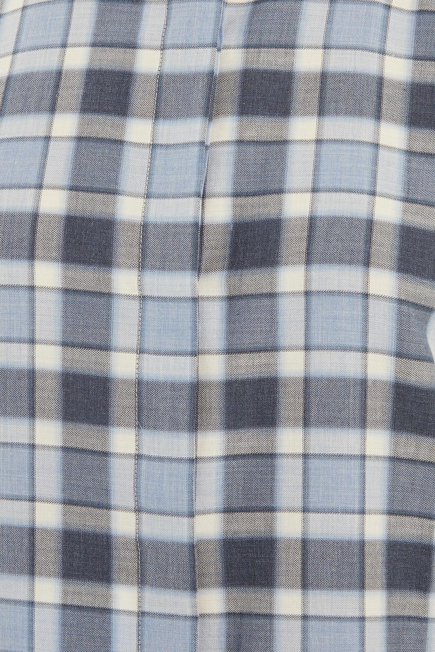 e0127c80bc2 Длинная хлопковая блузка в клетку Amina Rubinacci – купить в ...