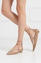 Кожаные туфли Christy Flat Aquazzura - Aquazzura, Обувь, Обувь Aquazzura,  вид 3