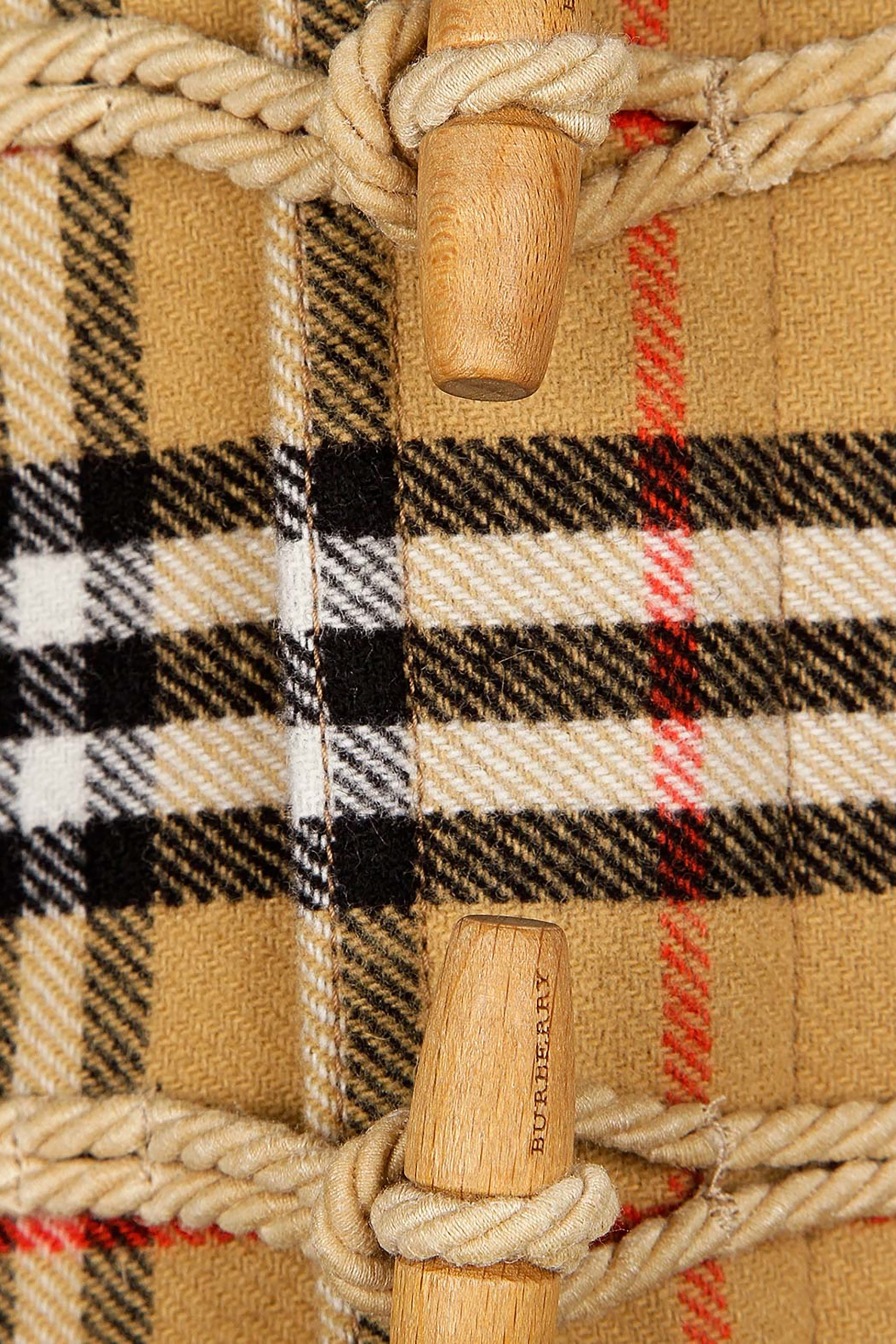 Пальто в клетку Burberry Kids - Однобортное пальто-дафлкот Burberry ... 2182702b317