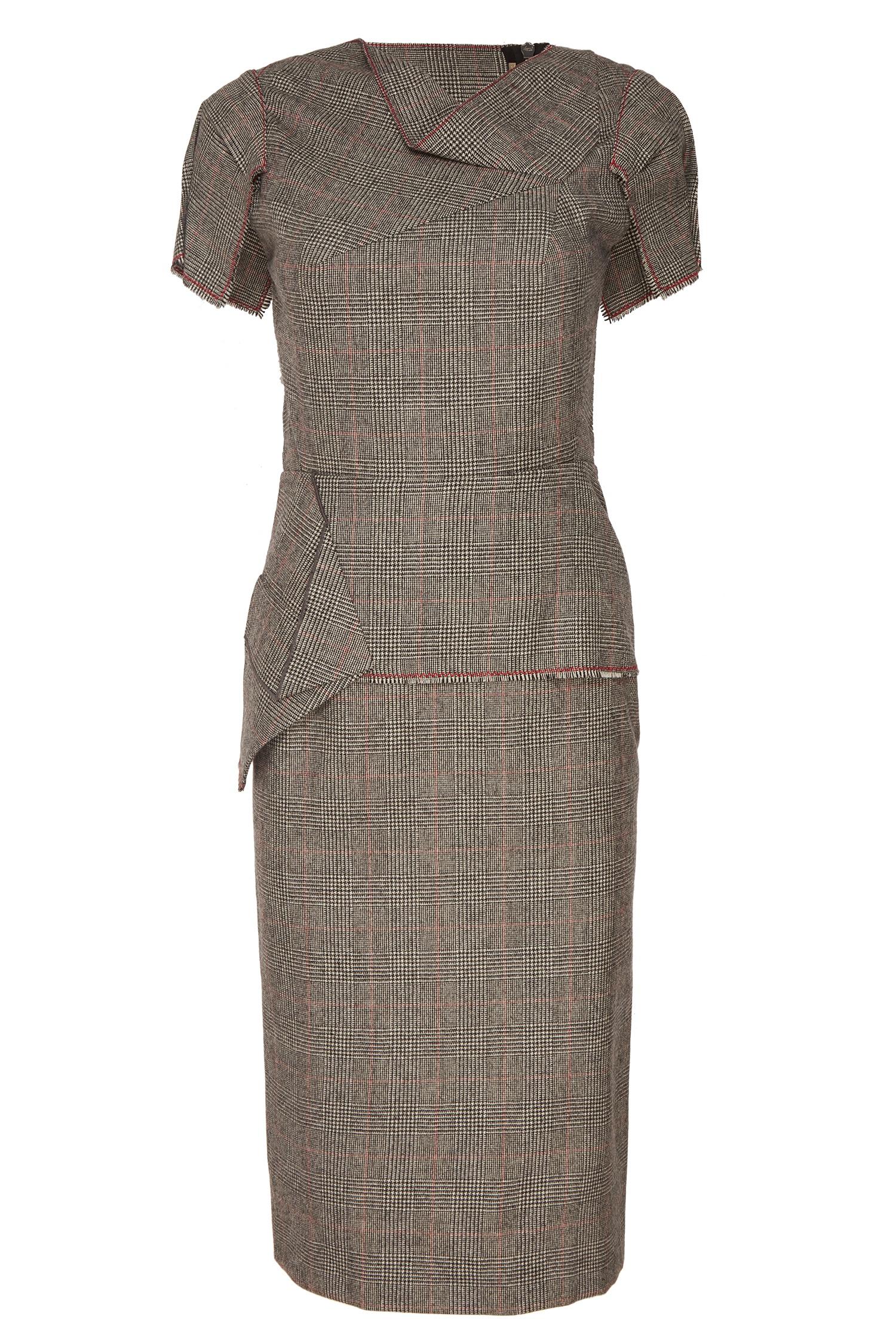 3e7fb6096d2 Платье в клетку принца Уэльского Roland Mouret – купить в интернет ...