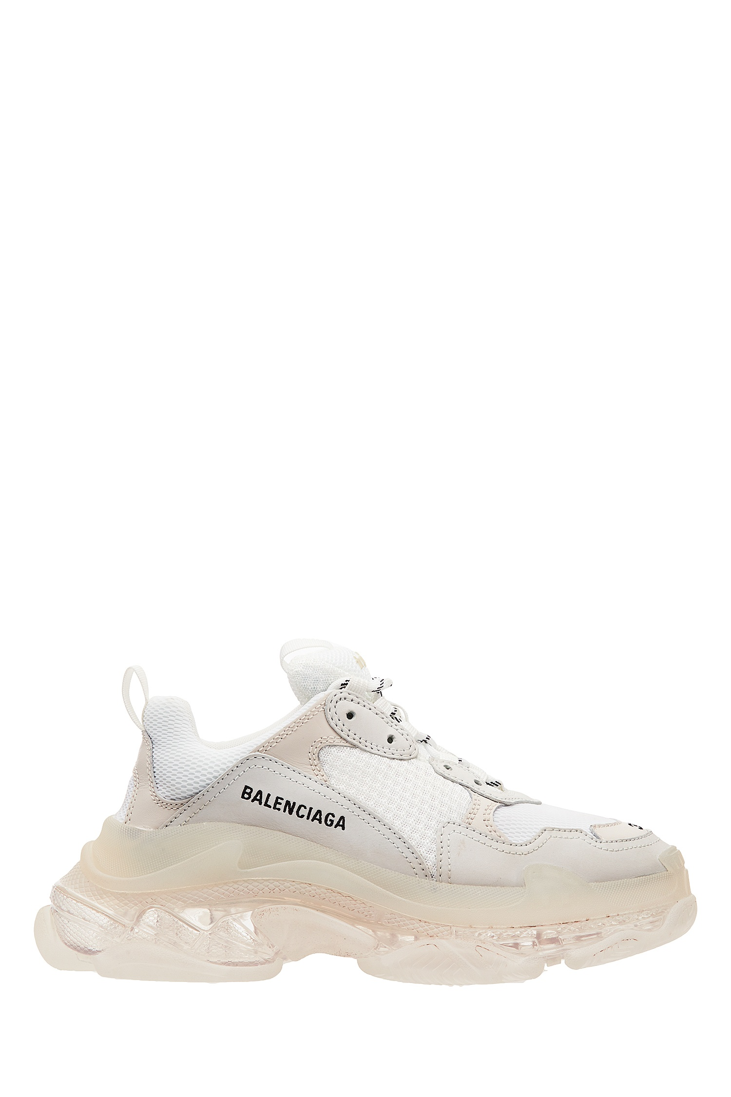 Белые кроссовки Triple S Clear Sole Balenciaga (фото)