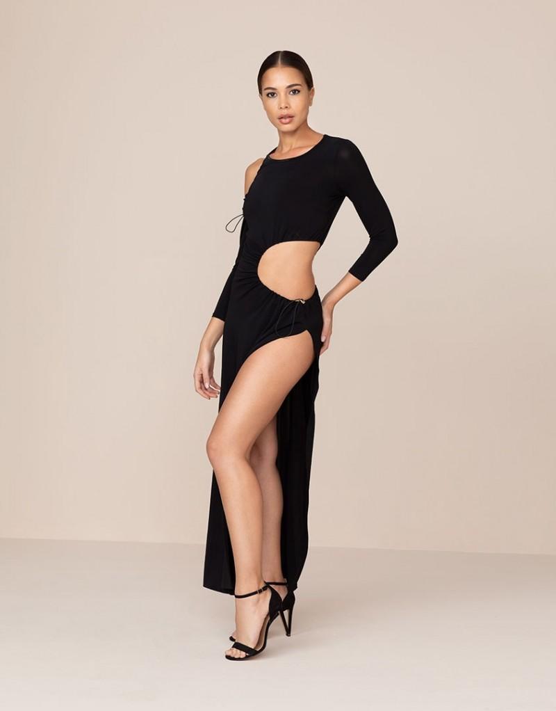 ced7d6146419c12 Пляжное платье Zofia черное цвет Черный купить за 45000 р. в ...