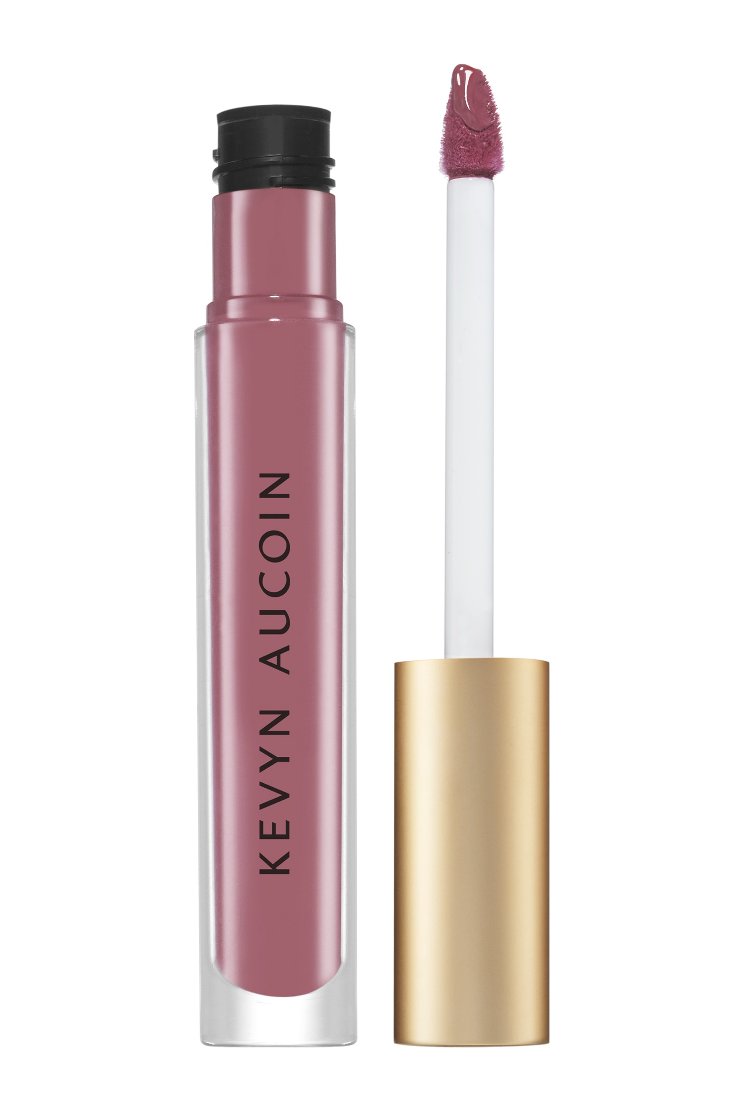 The Molten Lip Color - Molten Mattes - Жидкая матовая помада - Dolly, 4 ml Kevyn Aucoin (фото)