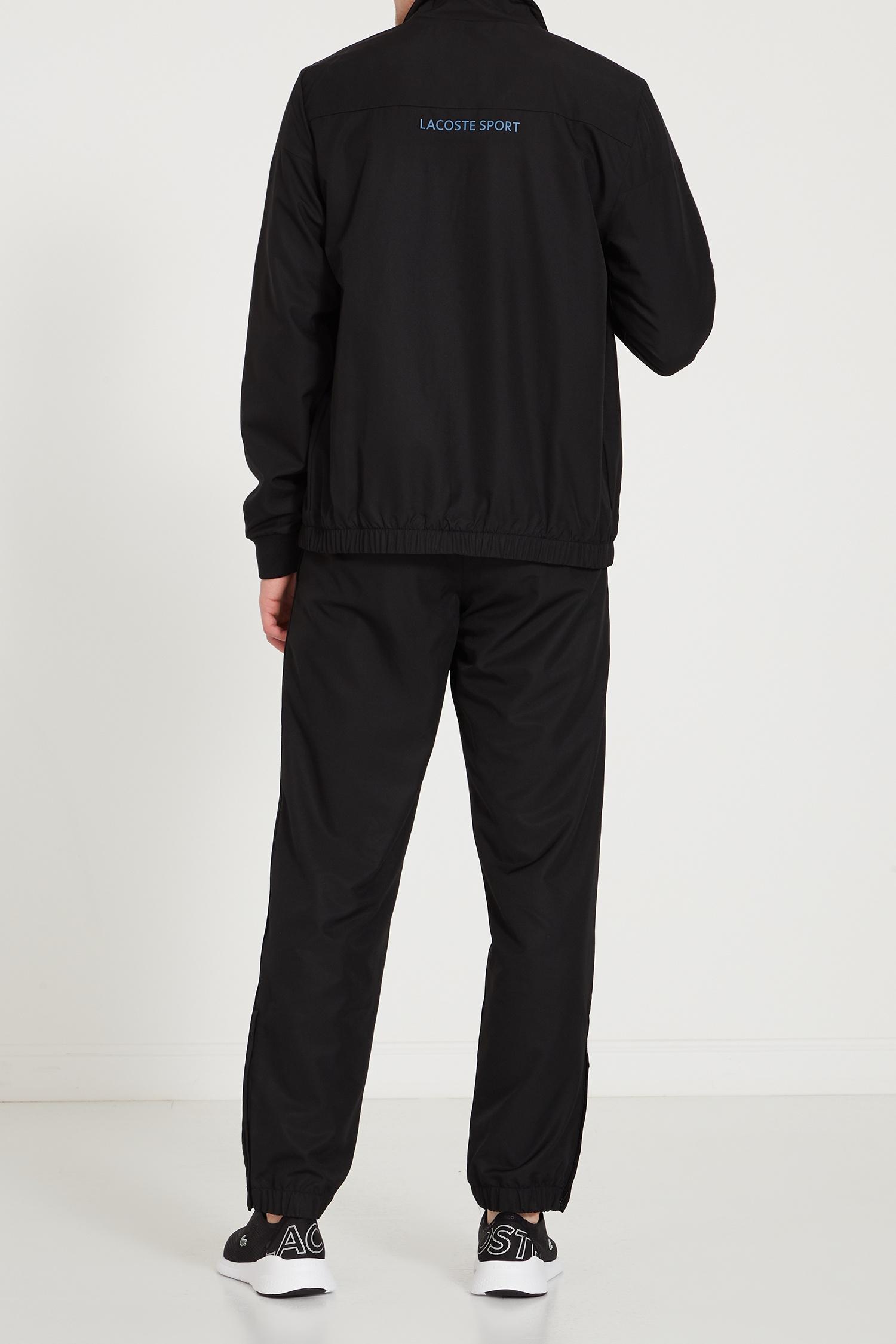 477e9879b5c8 Черный спортивный костюм Lacoste – купить в интернет-магазине в Москве
