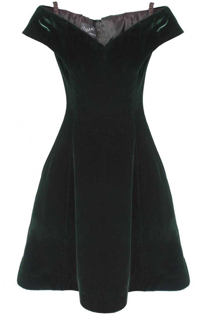 Бархатное платье (70-е)