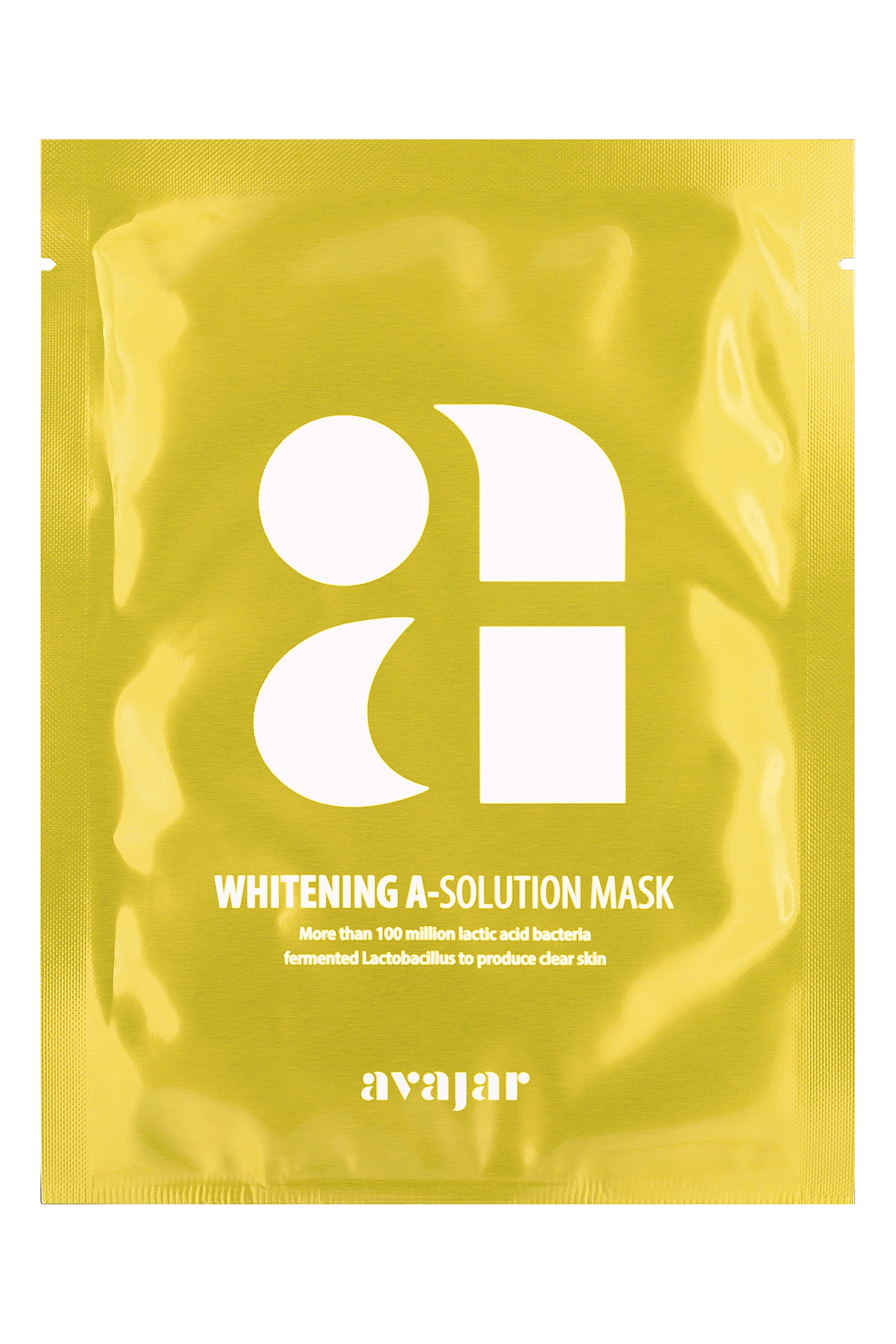 Avajar Whitening A-Solution Mask - 1 уп. 10 шт. Avajar (фото)