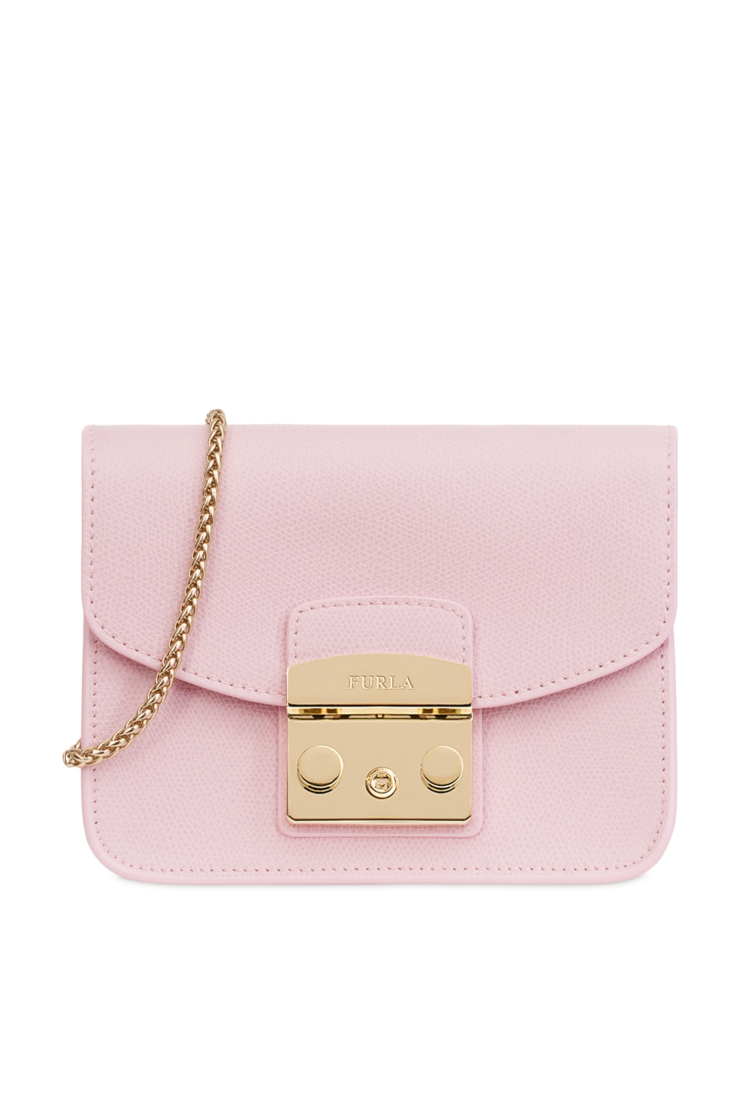 9a43580e25cb Светло-розовая сумка Metropolis FURLA – купить в интернет-магазине в ...