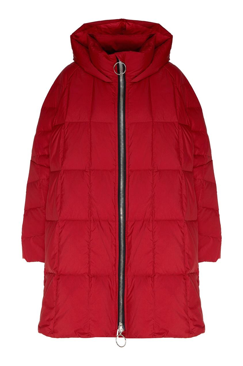 женское пальто ienki ienki, красное