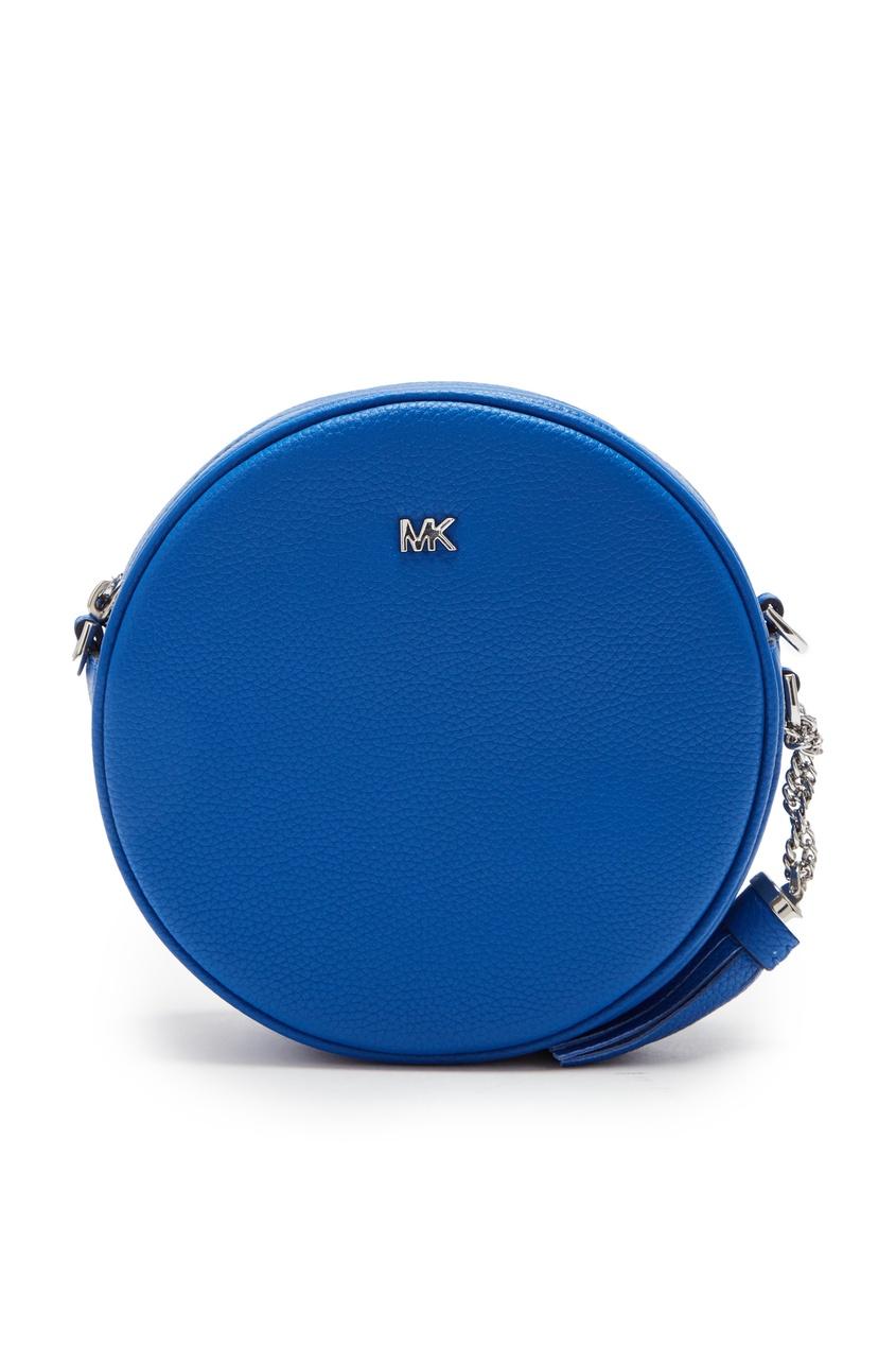 женская сумка michael kors, голубая
