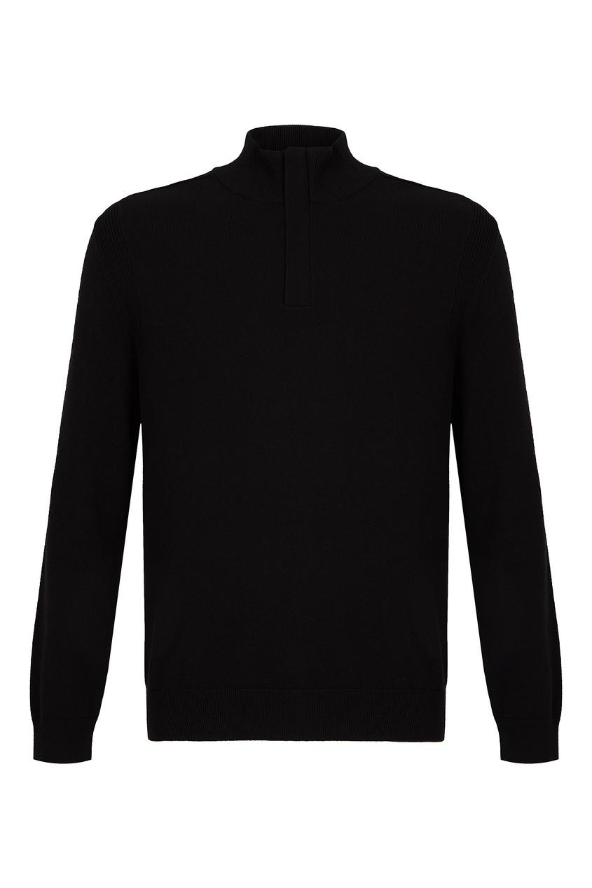 мужской свитер boss, черный