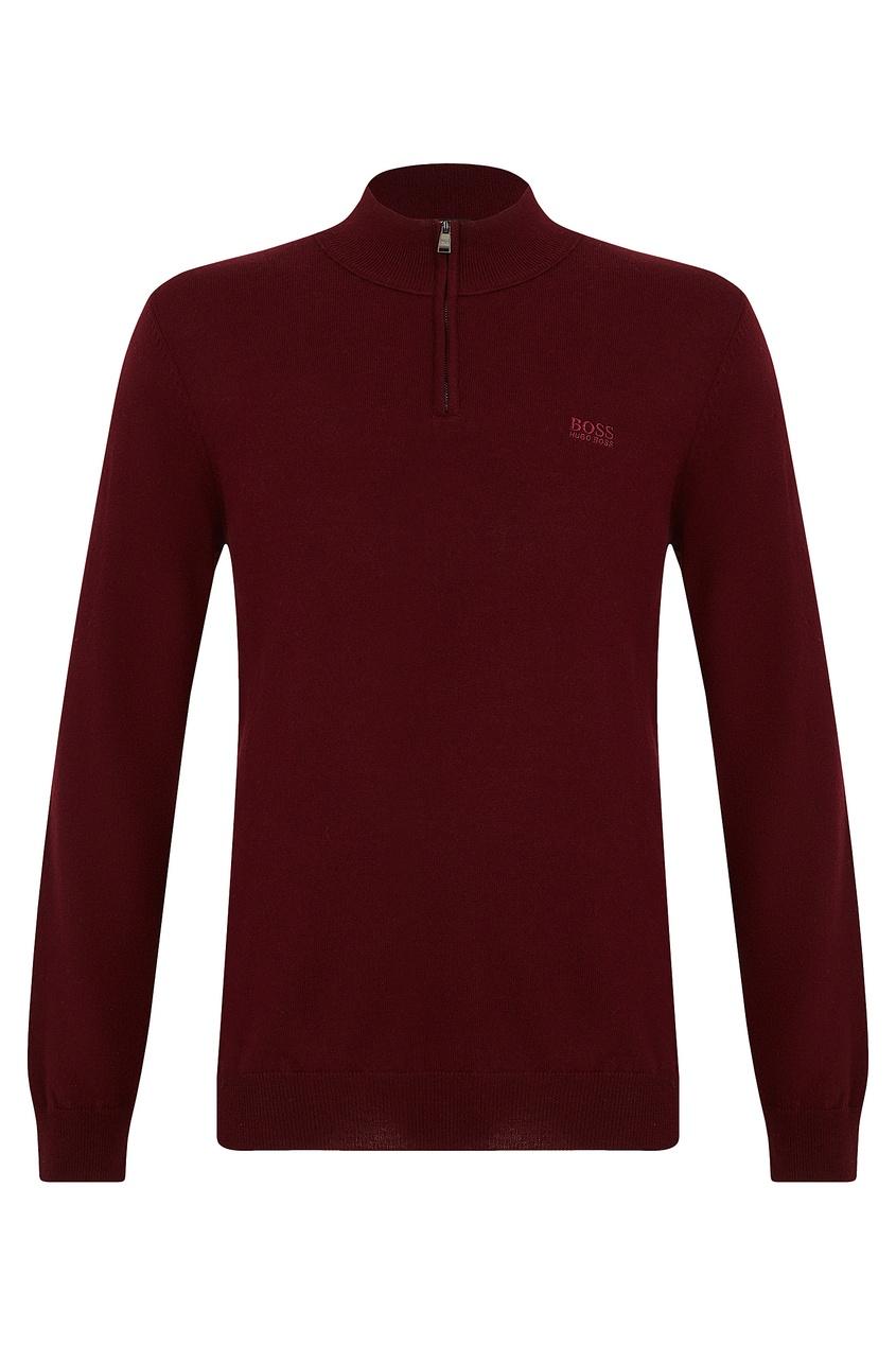 мужской свитер boss, красный