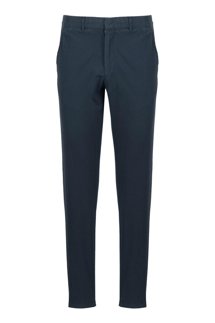 мужские прямые брюки strellson, синие