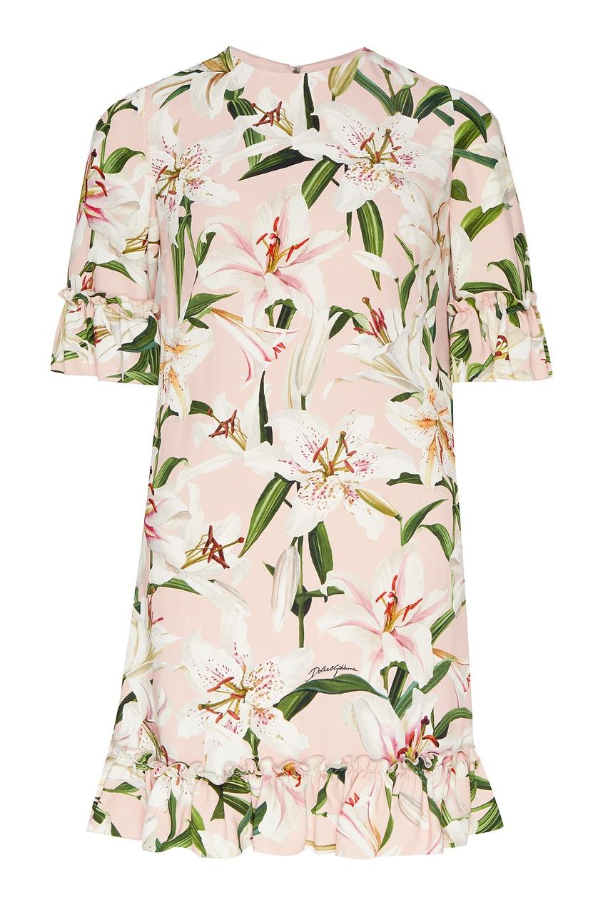 платье платье мини dolce & gabbana