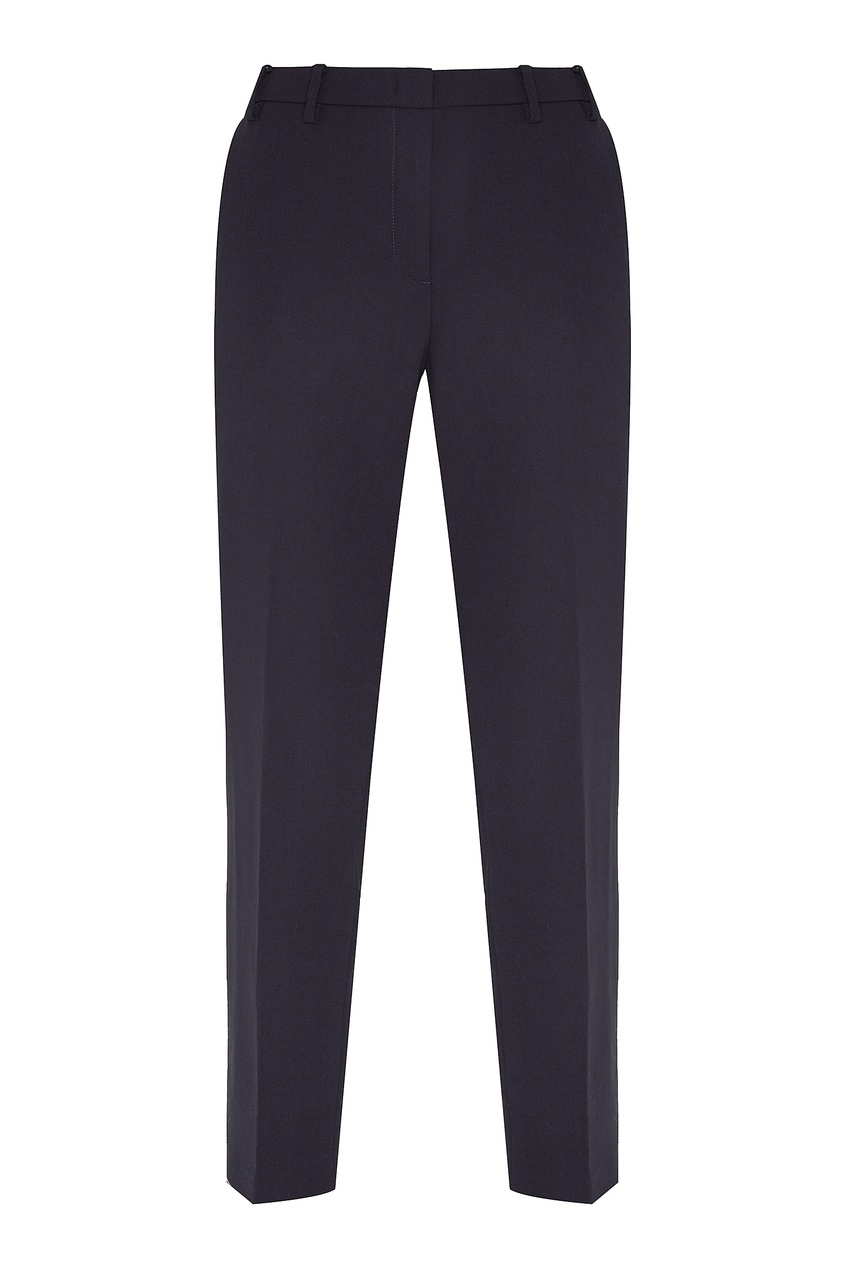 Фото - Синие брюки со стрелками от No.21 синего цвета