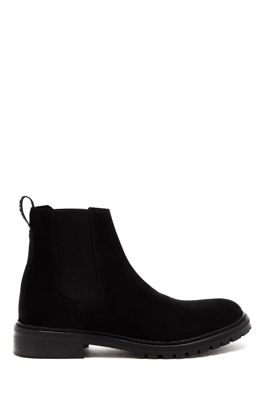 мужские ботинки hugo boss, черные