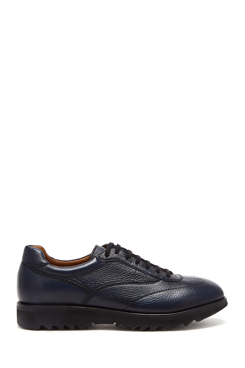 мужские туфли moreschi, синие