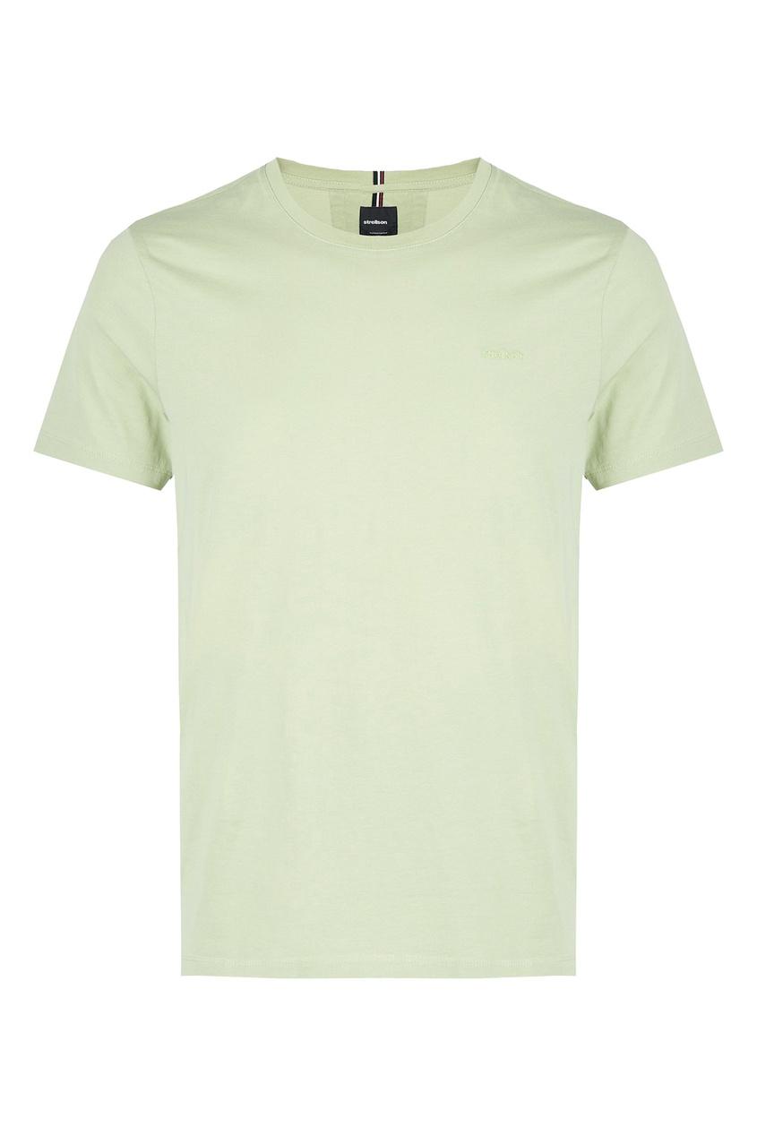 мужская футболка strellson, зеленая