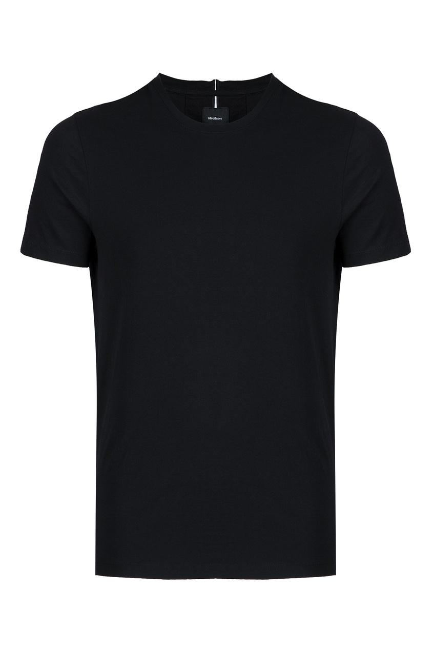 мужская футболка strellson, черная