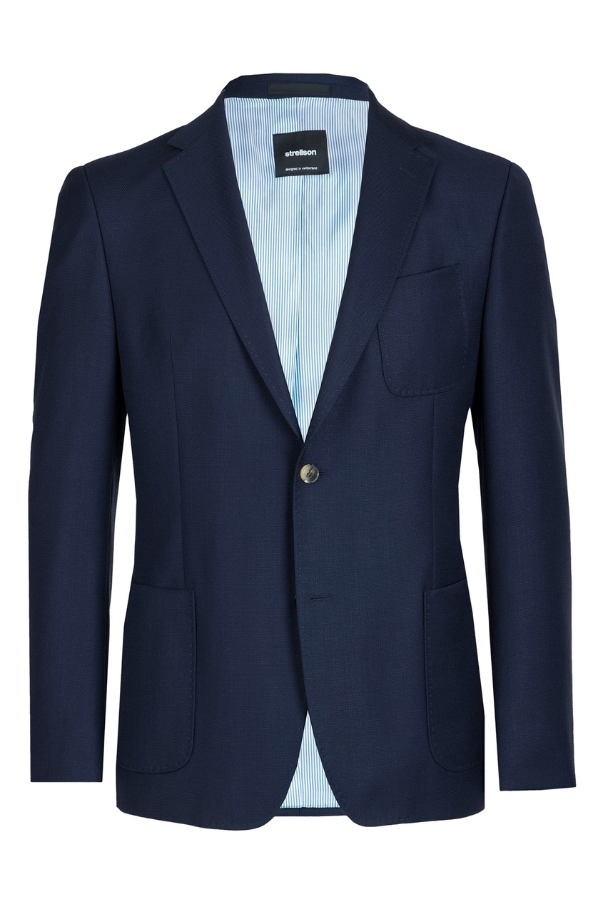 мужской пиджак strellson, синий