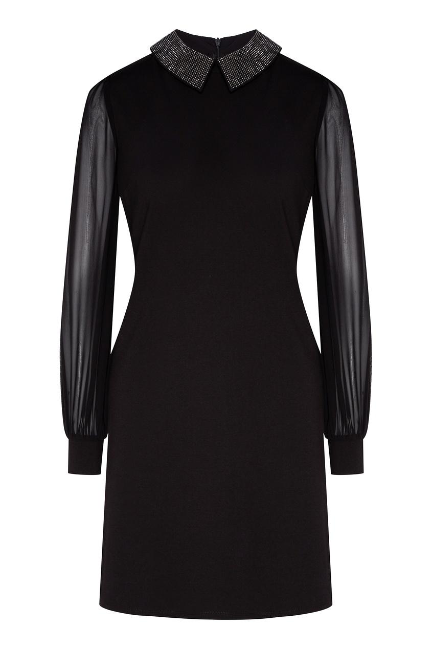 женское платье мини john richmond, черное
