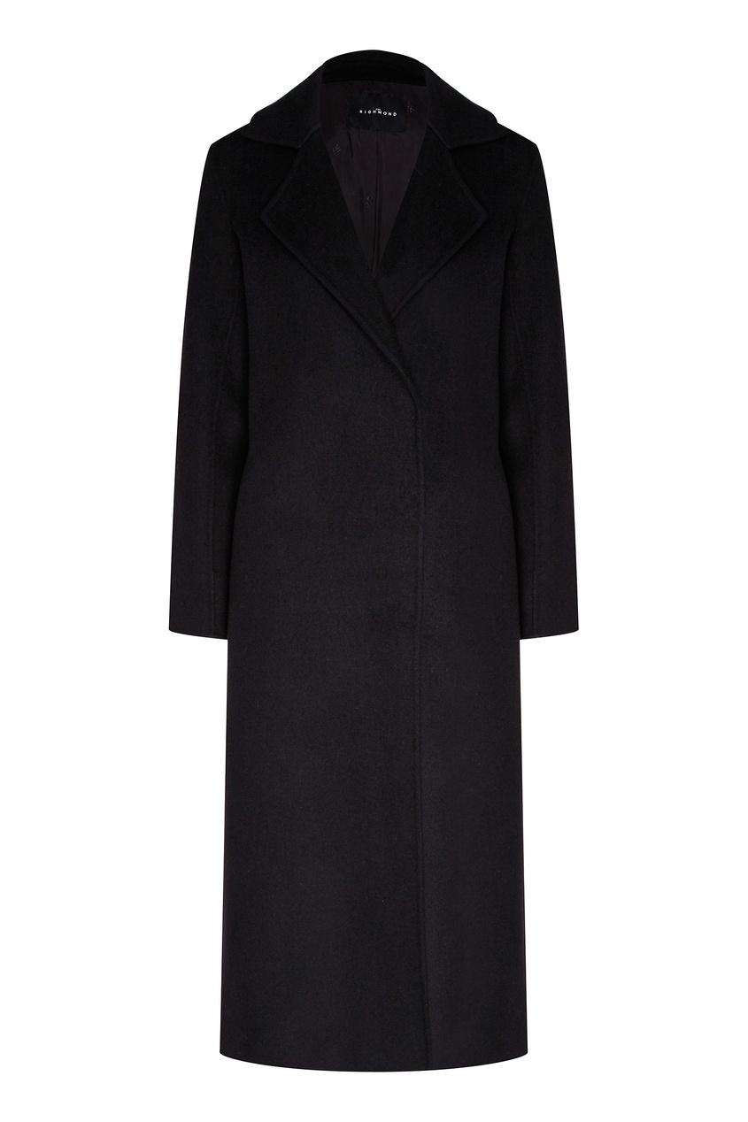женское шерстяное пальто john richmond, черное