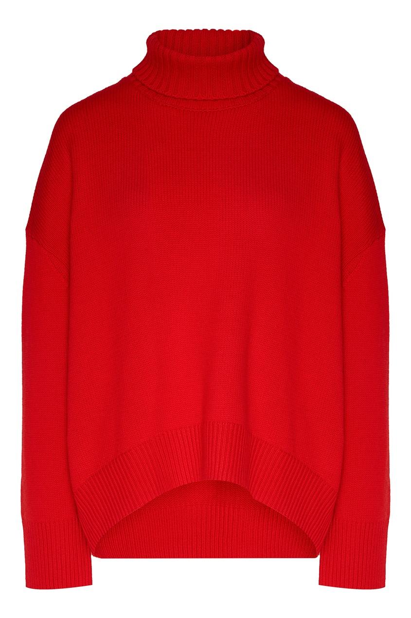 женский свитер addicted, красный