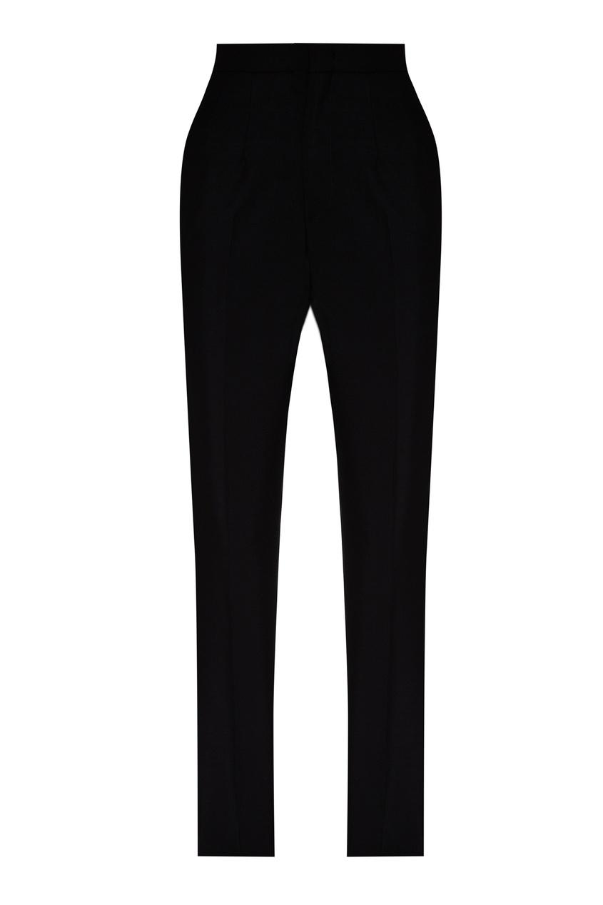 Купить со скидкой Узкие черные брюки