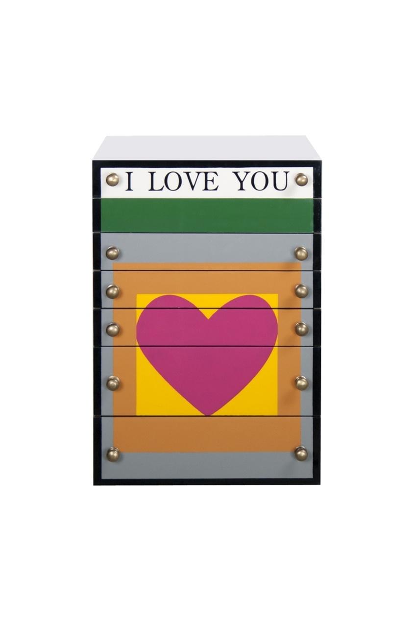 Средняя шкатулка для украшений Love