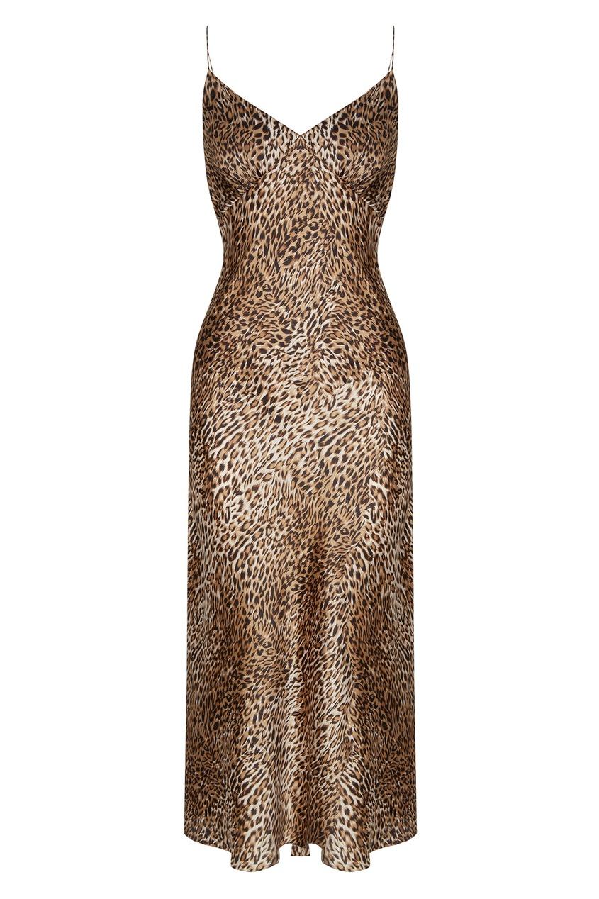 Комбинация с леопардовым принтом от Yana Dress