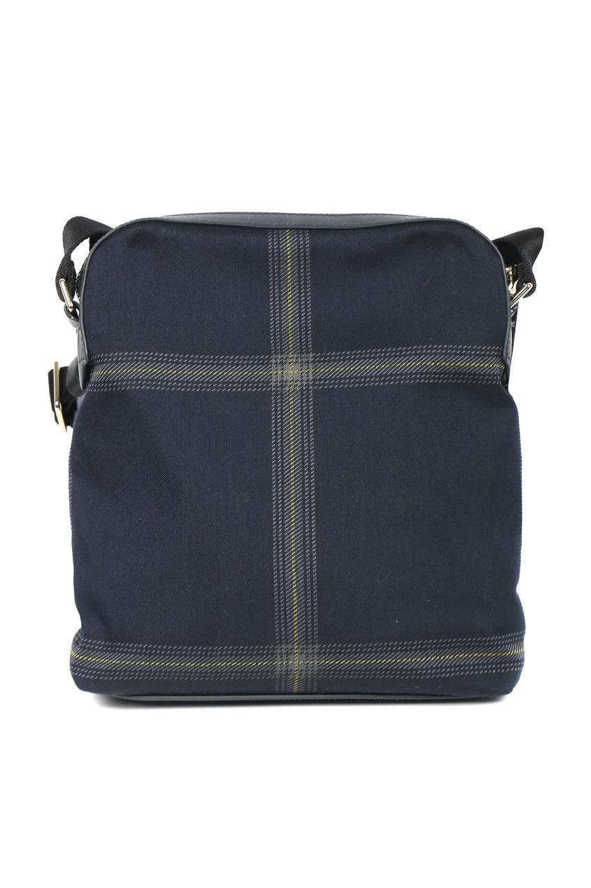 мужская сумка paul smith, синяя