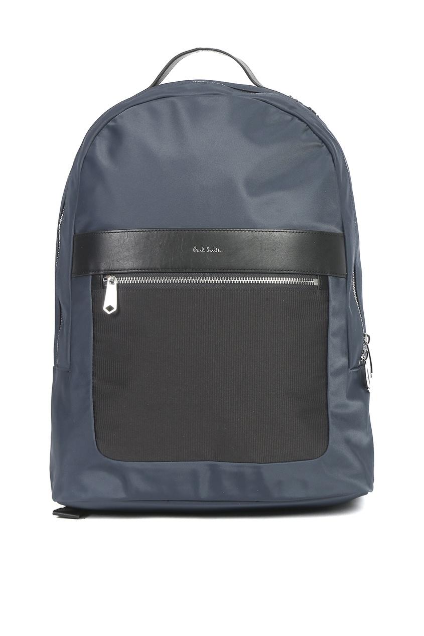 мужской рюкзак paul smith, синий