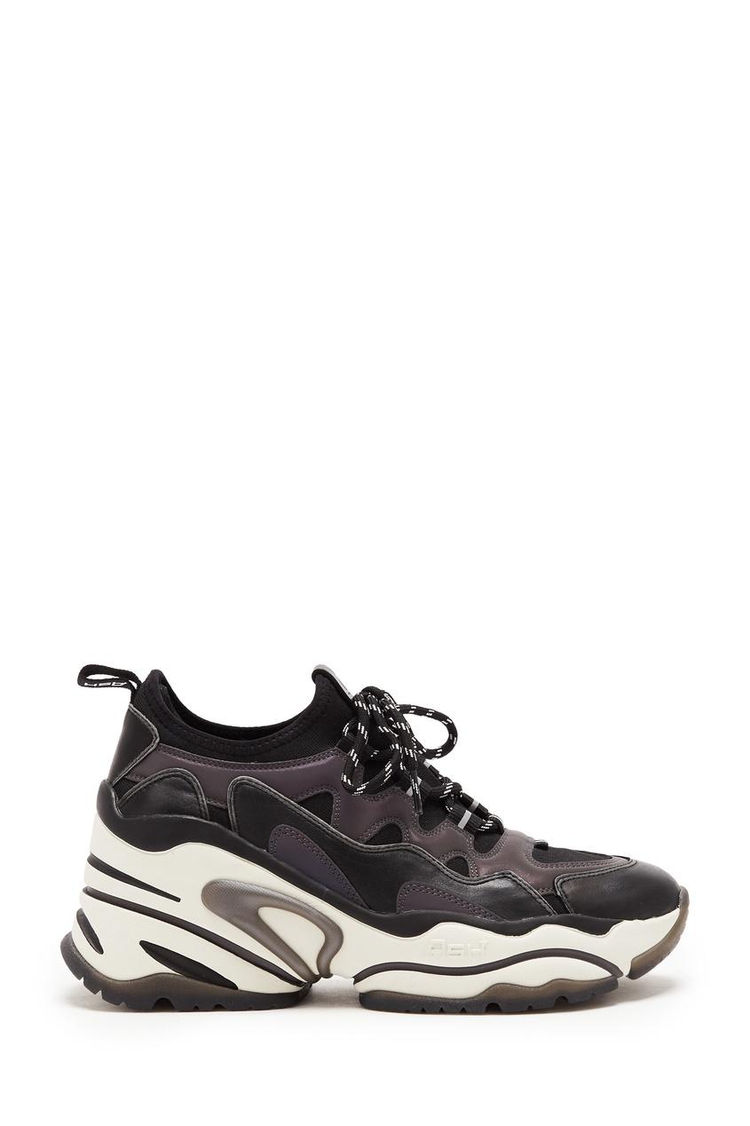 Демисезонные кроссовки на платформе