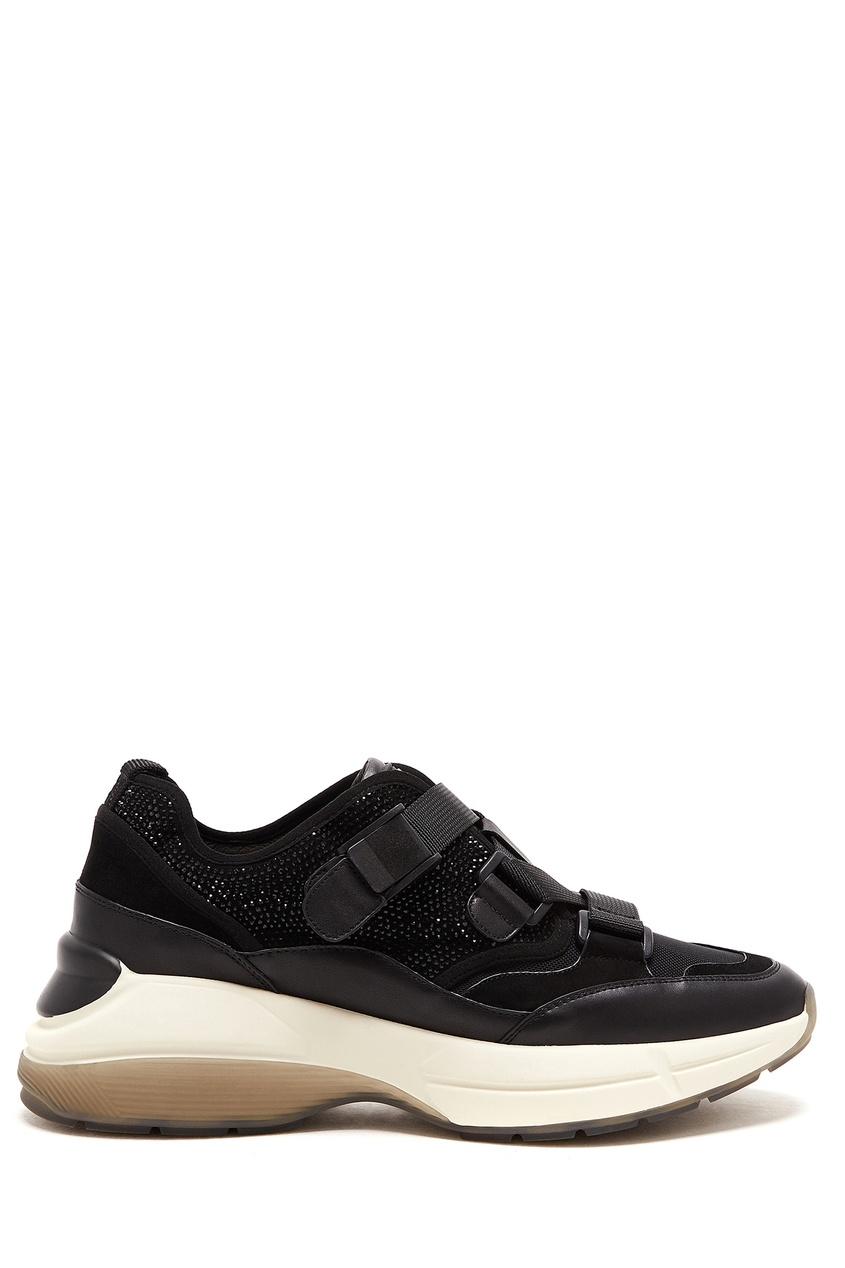 женские кроссовки на платформе lola cruz, черные