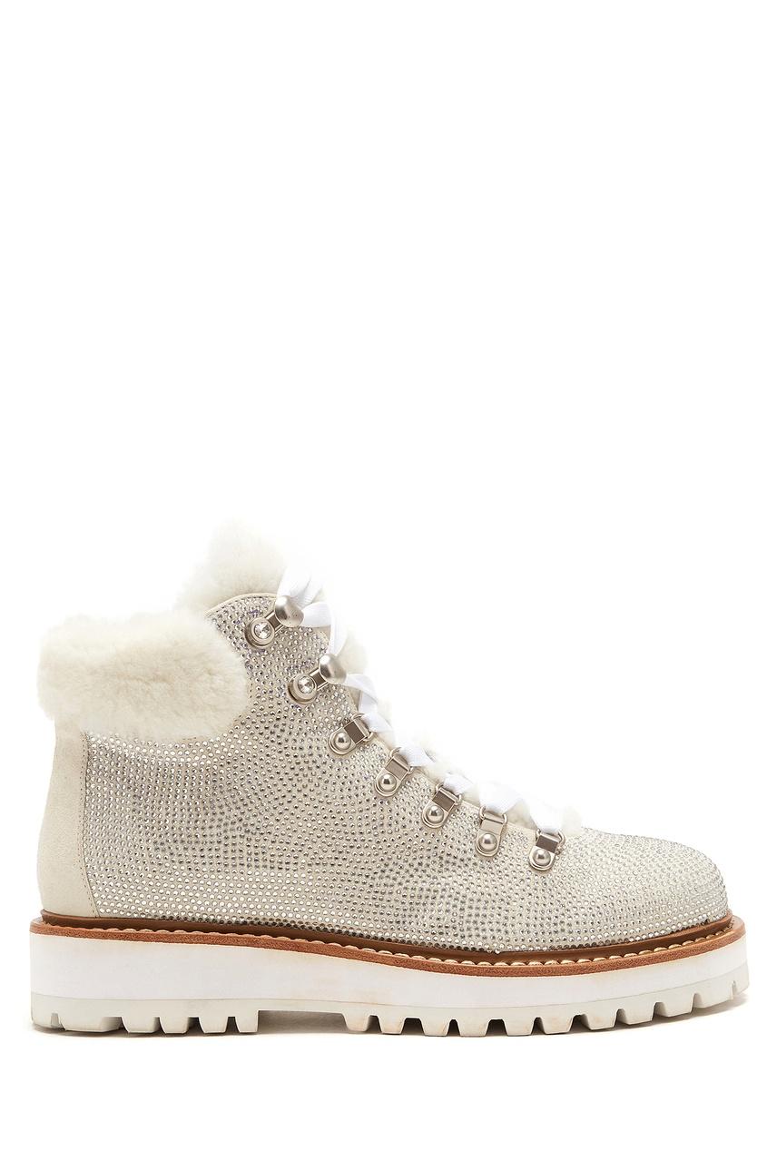 женские ботинки lola cruz, белые