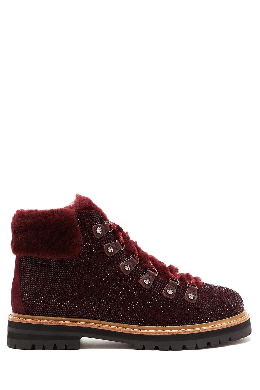 женские ботинки lola cruz, коричневые