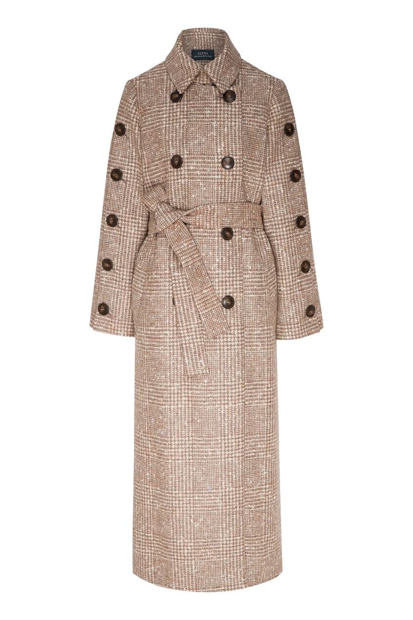 женское пальто alena akhmadullina, бежевое