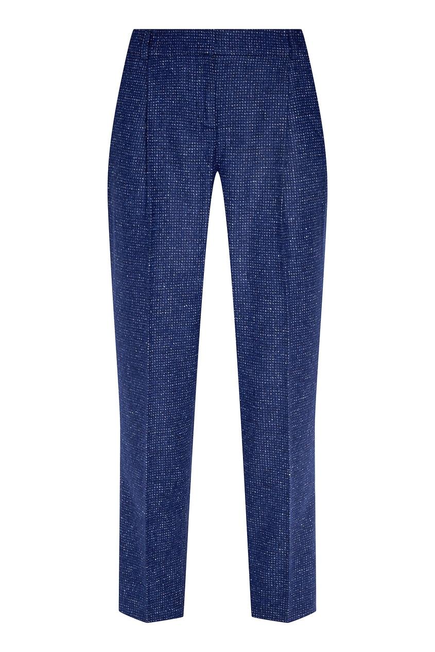 женские прямые брюки alena akhmadullina, синие