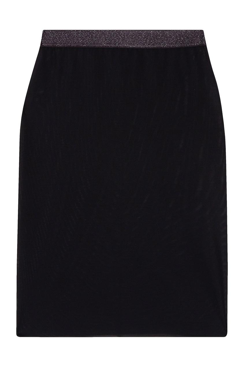 женская юбка le journal intime, черная